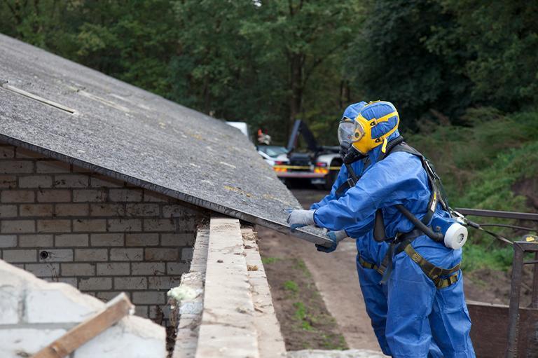 Odbiór iutylizacja azbestu